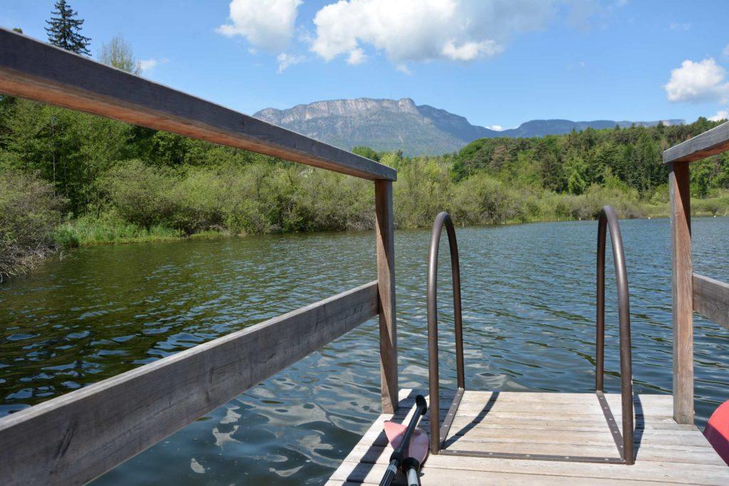 Sehr angenehm zum Baden im Montiggler See